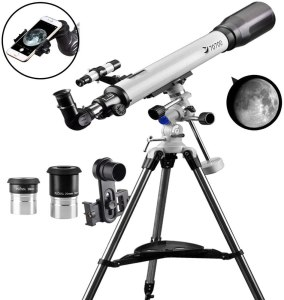 Solomark 70EQ Refractor Telescope Scope