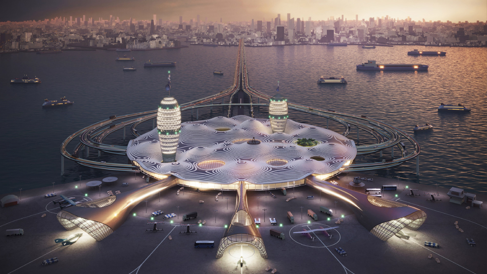 spaceport city
