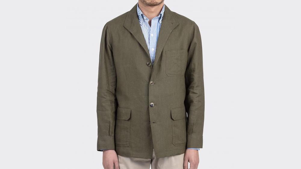 Justo Gimeno linen 'Teba' jacket, €410