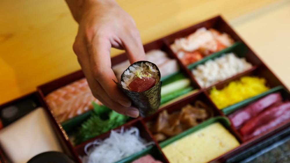 sushi noz temaki