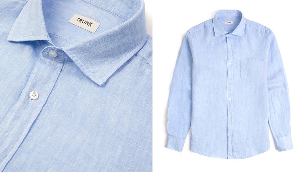 Trunk's 'George' linen shirt