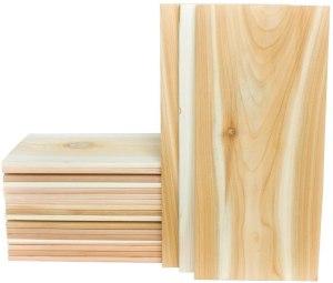 Wood Fire Grilling Co. Large Cedar Grilling Planks