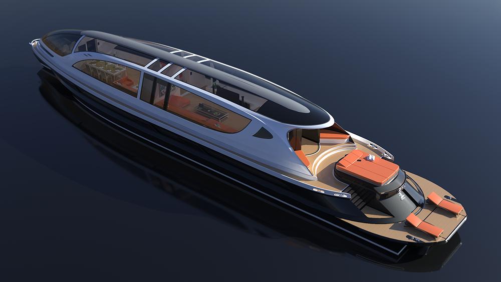 Xenos Hyperyacht Concept
