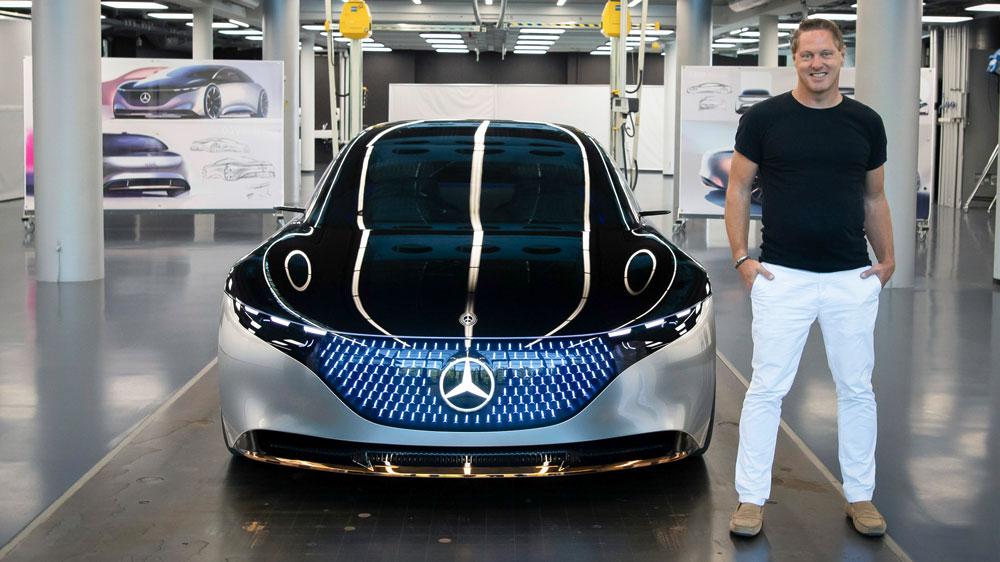 Gorden Wagener, Mercedes-Benz's chief design officer.
