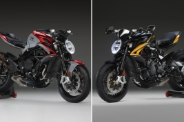 The 2020 MV Agusta Brutale 800 RR SCS and Dragster 800 RR SCS motorcycles.