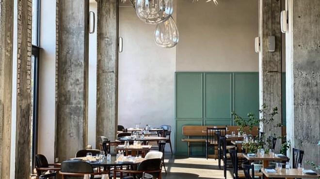 Inside 108's dining room