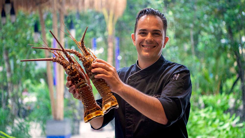 Aldo Cadau, executive chef and culinary director at Emerald. Maldives Resort & Spa.