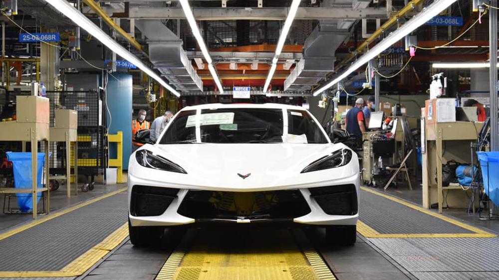 The 1.75-millionth Chevrolet Corvette
