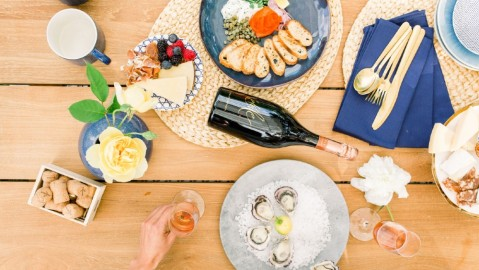 Domaine Chandon Napa Valley wine cabana