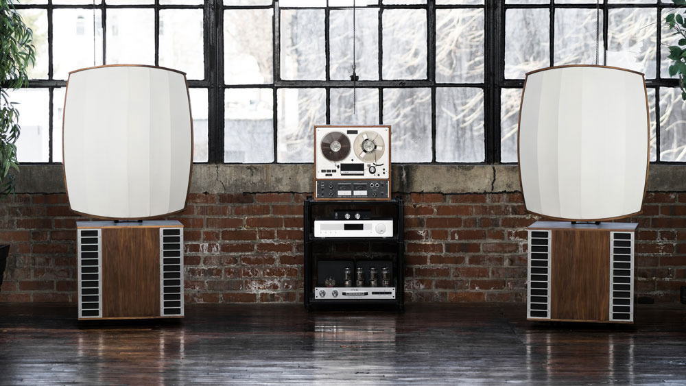 The MC Audiotech Forty-10 speakers.