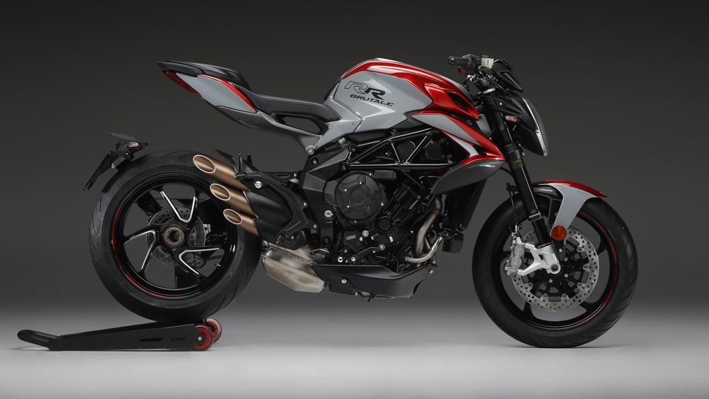 The 2020 MV Agusta Brutale 800 RR SCS motorcycle.