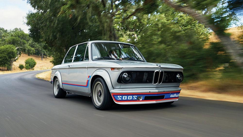 A 1974 BMW 2002 Turbo.