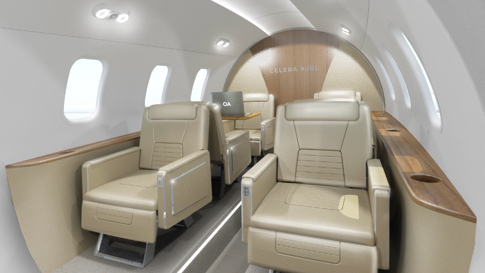 Laminar affordable private jet