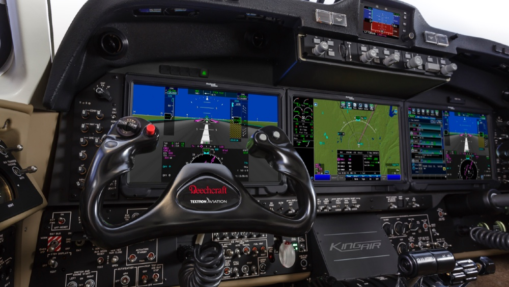 King Air 360 Cockpit