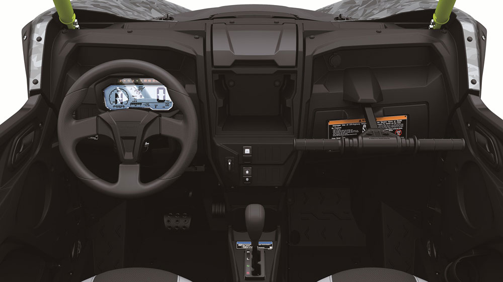 The 2021 Kawasaki Teryx KRX 1000.