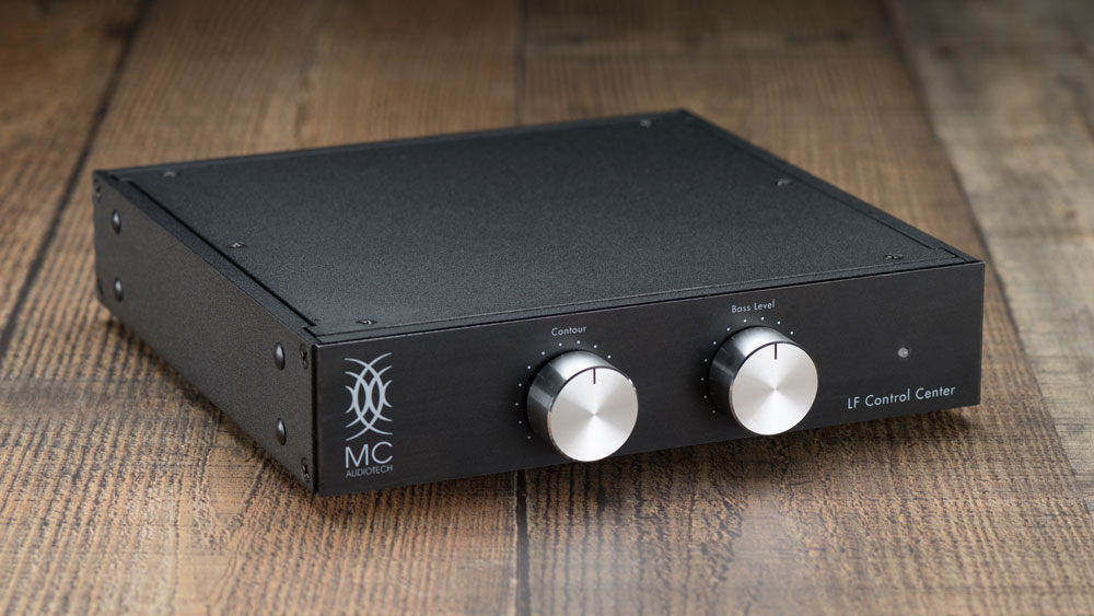 The controller for MC Audiotech's Forty-10 speakers.