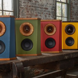 Fleetwood Sound Company's DeVille loudspeakers.