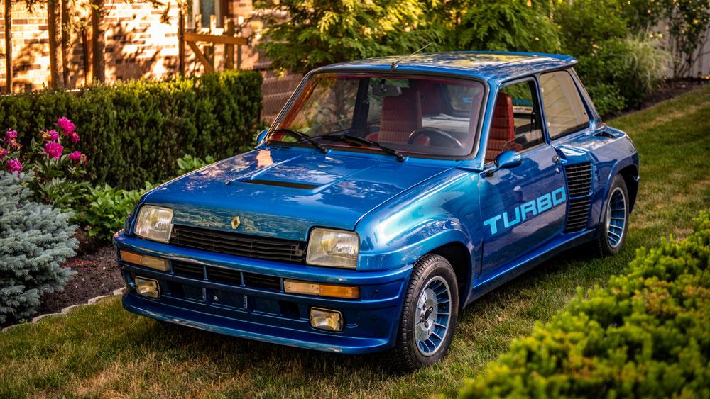 A 1981 Renault R5 Turbo.