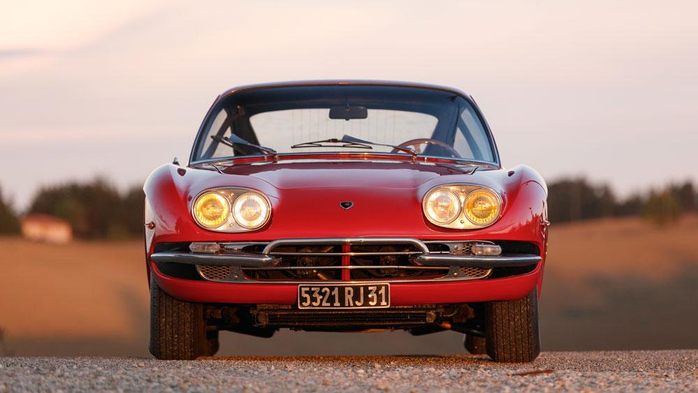 A 1967 Lamborghini 400 GT 2+2.