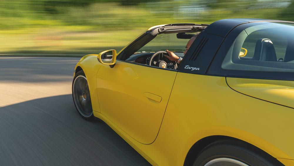 The 2021 Porsche 911 Targa 4S.