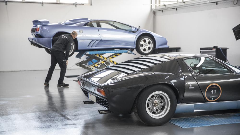 Lamborghini restoration