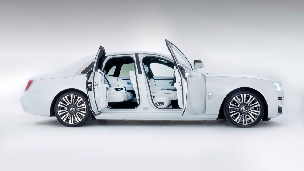 The 2021 Rolls-Royce Ghost.