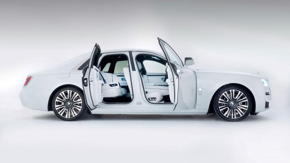 The 2021 Rolls-Royce Ghost.