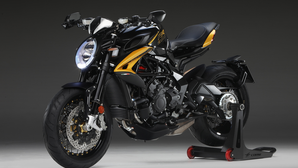 The 2020 MV Agusta Dragster 800 RR SCS motorcycle.