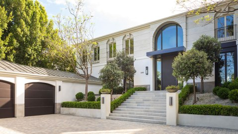 Beverly Hills, Crest Court, California, Real Estat