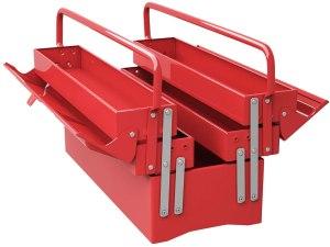 Goplus 20-Inch Metal Tool Box