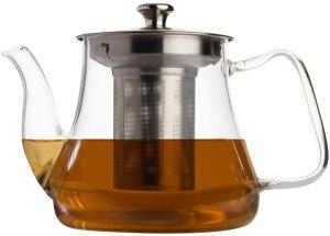 VAHDAM Radiance Glass Tea Pot With Infuser