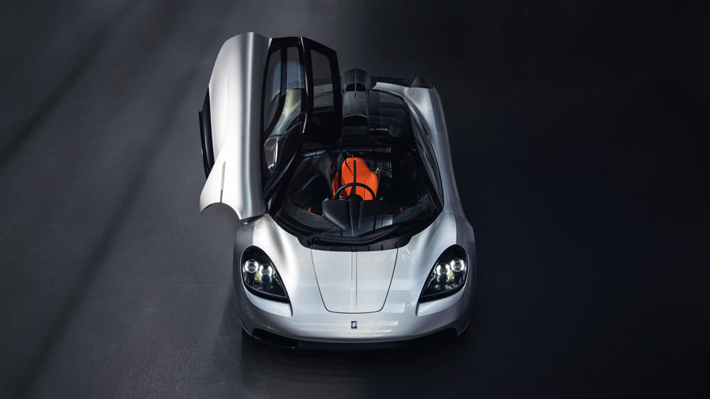 Gordon Murray Automotive's T.50 hypercar.