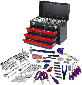 WORKPRO Mechanics Tool Set