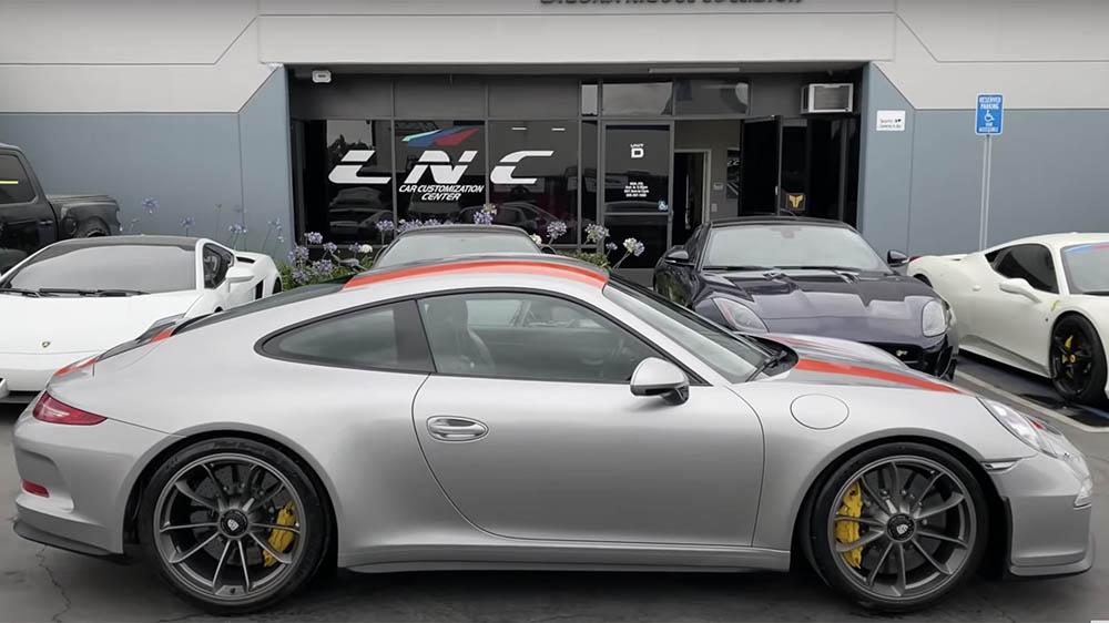 The fully-restored 2016 Porsche 911 GTS R3
