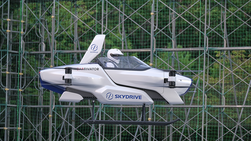 Skydrive's First Piloted Flying Car Completes a Successful Test Flight –  Robb Report
