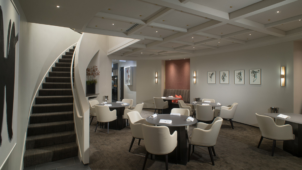Alinea dining room interior