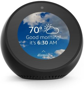 Amazon Echo Spot Smart Alarm Clock