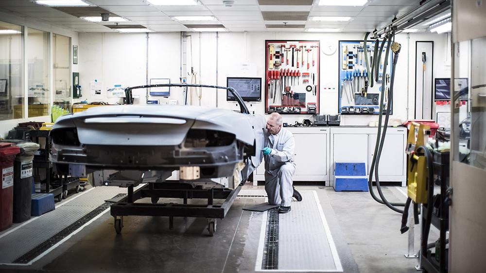 Aston Martin's Gaydon Factory