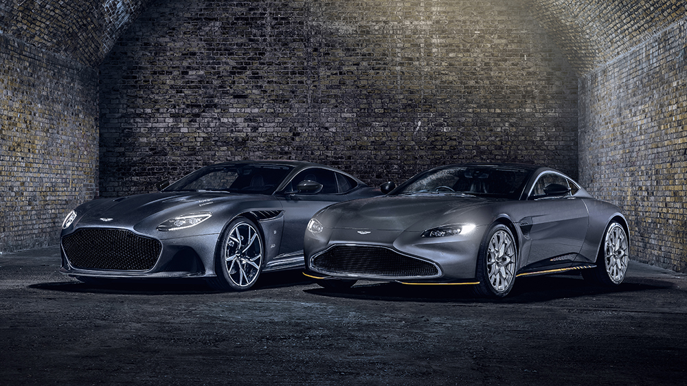 Aston Martin Vantage 007 Edition and Superleggera 007 Edition
