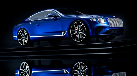 Bentley's bespoke 1:8 scale model of the Continental GT