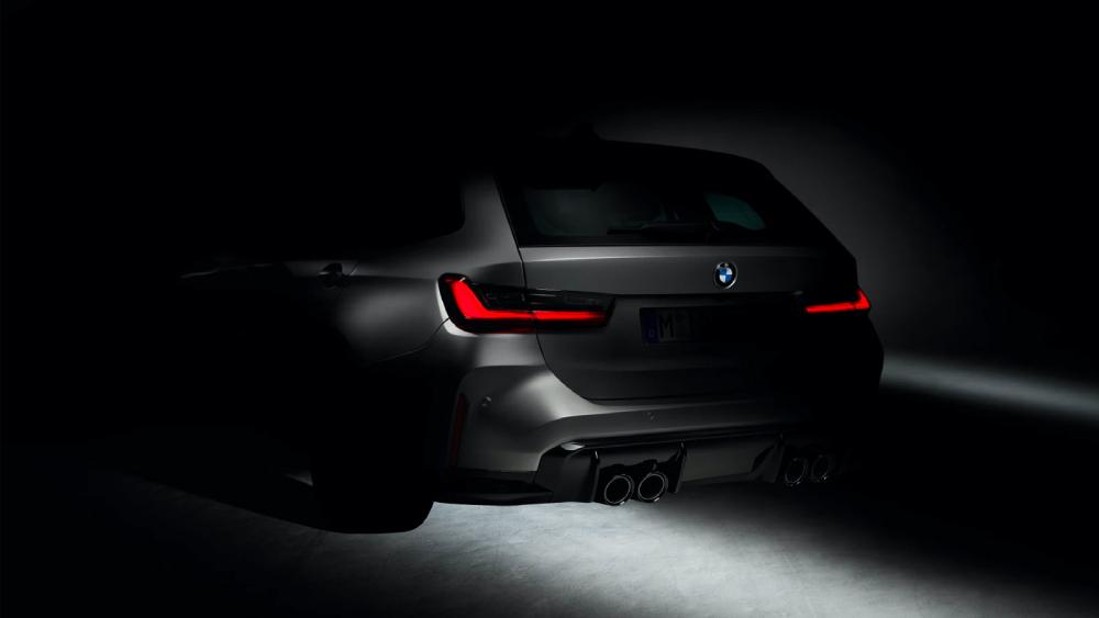 BMW M3 Touring Wagon tease