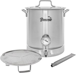 BREWSIE Stainless Steel Home Brew Kettle