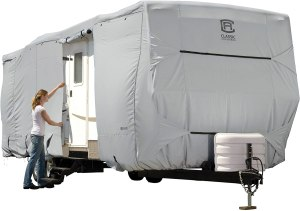 Classic Accessories OverDrive PermaPro Heavy-Duty Travel Trailer Cover