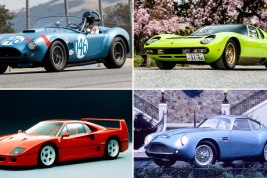 The 25 Greatest Supercars of the Last 100 Years (and Beyond)