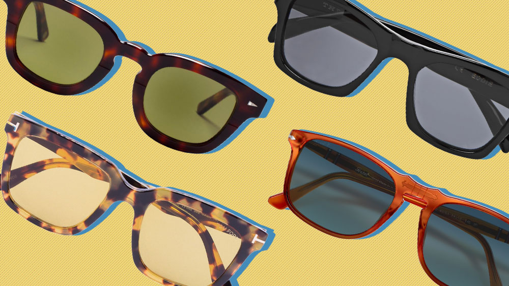 Sunglasses by Tom Ford, Ahlem, The Reference Library and Persol.