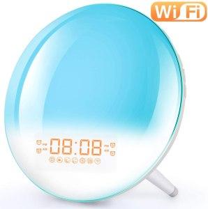 Corlitec Smart Wake Up Light Alarm Clock