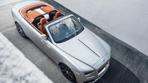 Rolls-Royce Dawn Silver Bullet roadster