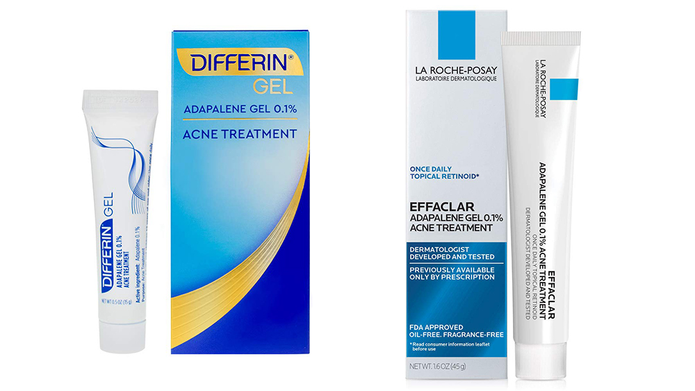 Differin Gel and La Roche Posay's Adapalene Gels are recommended over-the-counter retinoid alternatives.