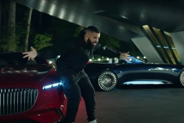 Drake and the Vision Mercedes-Maybach 6 Cabriolet and Coupe