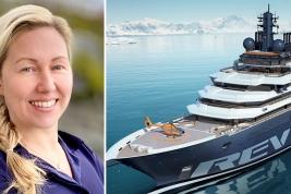 Captain Elin Signe Askvik and REV Ocean
